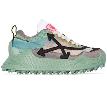 Ladies Mint Arrow Sneakers by OFF-WHITE