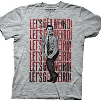 Workaholics Let's Get Weird Heather Gray Mens T-Shirt