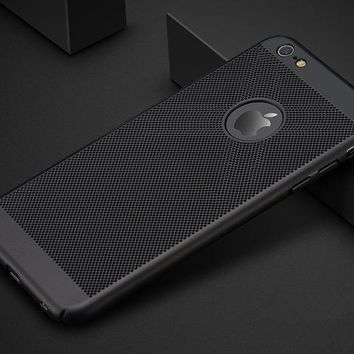 Ultra-Slim Grid Phone Case for iPhone