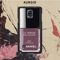 Chanel Nail Polish Charivari Samsung Galaxy Note 4 Case Auroid