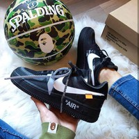 Nike Air Force 1 OFF-WHITE OW Casual shoes-5