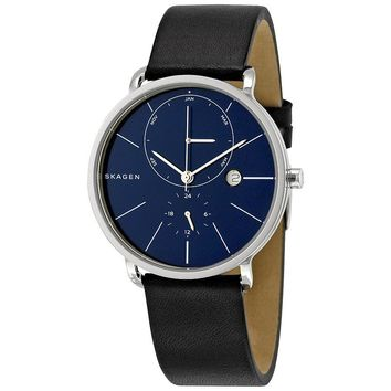 Skagen Hagen Multifunction Blue Dial Mens Watch SKW6241