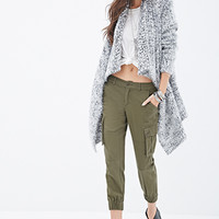 Oversized Fuzzy Knit Cardigan