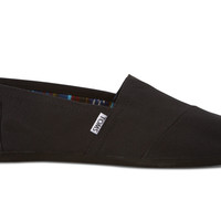 TOMS Black On Black Men's Classics Black