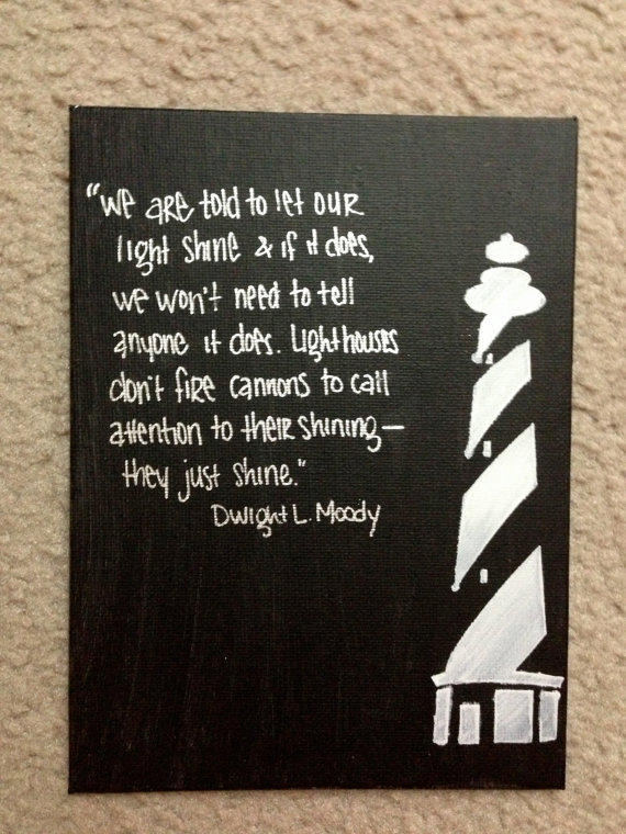 Lighthouse canvas inspirational painting from saltydiscoveries on - Exterior painting quotes set ...