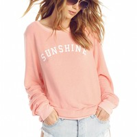 Sunshine & Wine Baggy Beach Jumper