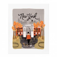 New York Autumn Art Print by RIFLE PAPER Co. | Made in USA