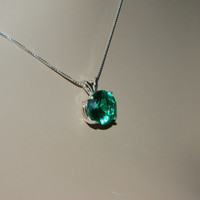 Beautiful Emerald Necklace