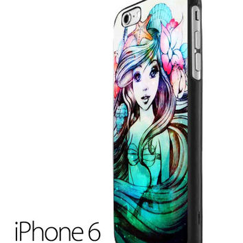 ariel little mermaid iPhone 6 Case