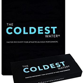 "The Coldest Ice Pack Gel Reusable Flexible Therapy Best For Back Pain Leg Arm Knee Shoulder Sciatic Nerve Recovery Medical Grade X-Large Big Compress 15"" x 12"" by The Coldest Water"