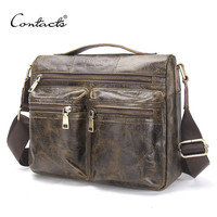 Spring New Arrival Men's Messenger Bags For Men Crossbody Bag Khaki Men's Bag Shoulder Bags Business Casual