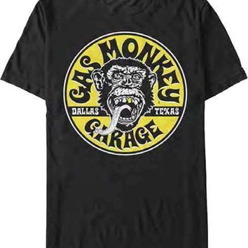 Gas Monkey Garage Equipped Mens T-Shirt