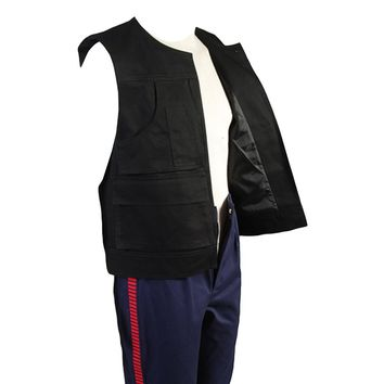 Star Wars Force Episode 1 2 3 4 5  ANH A New Hope Han Solo Costume Vest Only Top Costume Halloween Carnival Cosplay Men AT_72_6