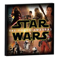Star Wars: Episode VII The Force Awakens Character Collage Canvas Wall Art