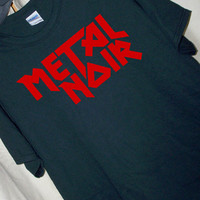 METAL NOIR Heavy Metal T Shirt