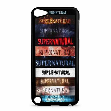 Supernatural Intro Seasons 1-10 iPod Touch 5 Case