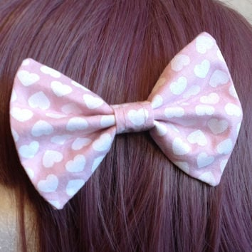 Kawaii Harajuku Fairy Kei Hime Gyaru Japanese Fashion Pastel Goth Soft Grunge Pop Kei Dolly Lolita Sweetheart Hair Bow Tie