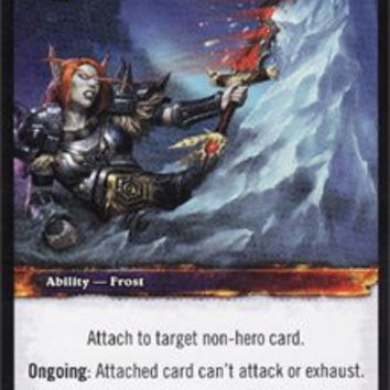 "World of Warcraft TCG Frozen Nerves ""Worldbreaker"" Single Card #058"