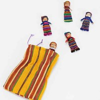 Oversized Worry Dolls- Set Of 4- Assorted One