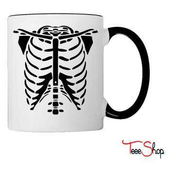Skeleton Body Glow In The Dark Coffee & Tea Mug