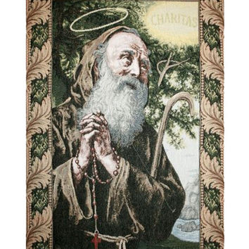 St. Frances from Paola Tapestry Wall Art Hanging