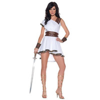 Underwraps Womens Olympia Halloween Party Greek Goddess Costume
