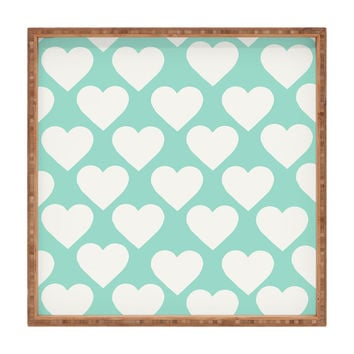 Allyson Johnson Minty Love Square Tray
