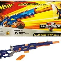 Nerf N-Strike Longstrike CS-6 Dart Blaster (Discontinued by manufacturer)