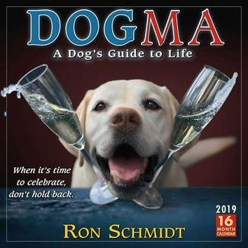 Dogma Wall Calendar, Assorted Dogs by Sellers Publishing