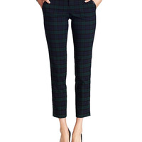 Black Watch Plaid Pants | Lord and Taylor