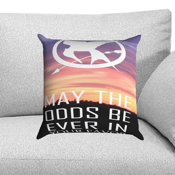 Hunger Games Catching Fire Quotes Custom Pillow Case for One Side and Two Side