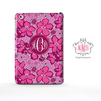 Sigma Kappa Flower Lilly Pulitzer Monogram iPad Air Case, iPad Mini Case