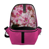 Sweet William Flowers Messenger Bag