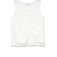 Candy-Coated Crochet Top (Kids