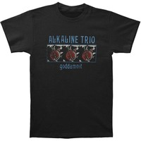 Alkaline Trio Men's  Goddamnit T-shirt Black