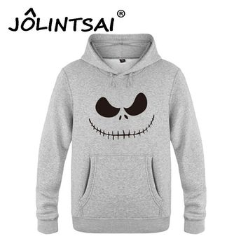 Nightmare Before Christmas Grimace Pullovers Hip Hop Men Hoodies and Sweatshirts Mens Pullover Harajuku Funny Brand Tracksuits