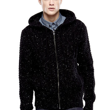 MANILE M Hooded Knit Sweater