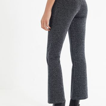 UO Glitter Flare Pant | Urban Outfitters