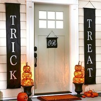 Set of 3 Trick or Treat Halloween Banners