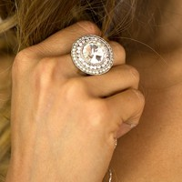 Can't Stop Rockin' Ring in Silver