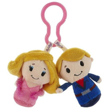 Hallmark Barbie and Ken itty bittys Clippys Stuffed Animals
