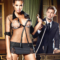 On Sale Hot Deal Cute Sexy Underwear Set Skirt Sleepwear Strong Character Exotic Lingerie [6595883587]