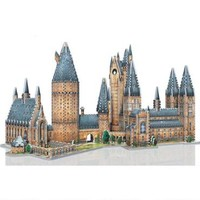 Hogwarts Great Hall & Astronomy Tower 3D Puzzle Set | HarryPotterShop.com