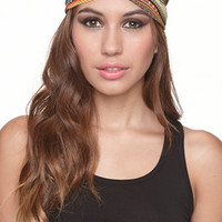 With Love From CA Multi Print Knot Headscarf at PacSun.com