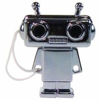 DCI 23705 Tunes for Two Robot Headphone Splitter - Wired Headsets - Retail Packaging - Silver