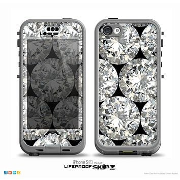 The Diamond Pattern Skin for the iPhone 5c nüüd LifeProof Case
