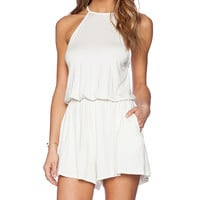 Rachel Pally Dee Dee Playsuit in Ivory