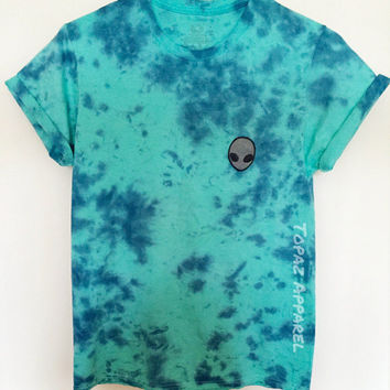 Alien Atlanta Tie Dye Shirt