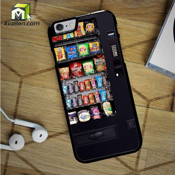 Snacks Vending Machine iPhone 6S Case by Avallen
