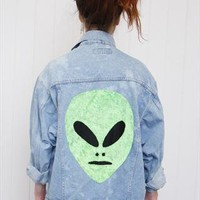 'UF-WHAT?' Denim Jacket  from REDROCK